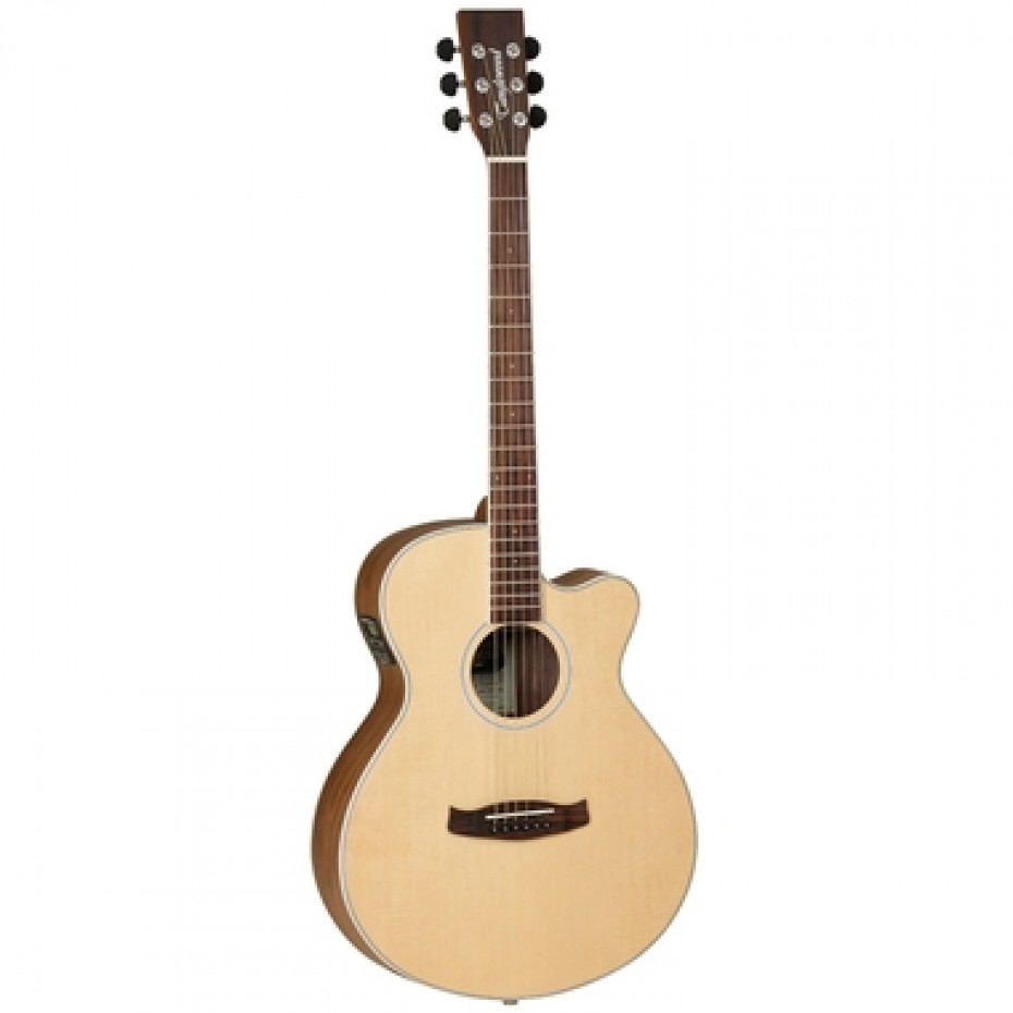 Tanglewood SFCEBW Discovery Exotic Superfolk Black Walnut