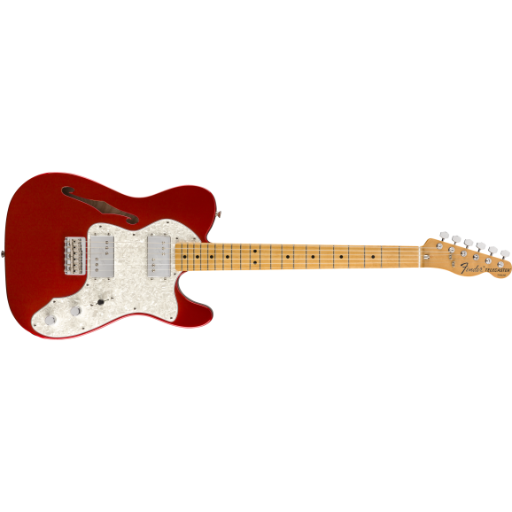 Fender Vintera 70's Telecaster Thinline - Candy Apple Red