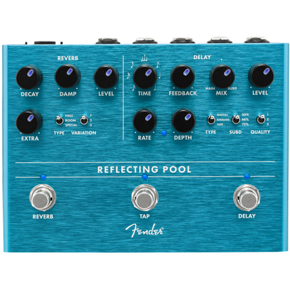 Fender Reflecting Pool Delay & Reverb
