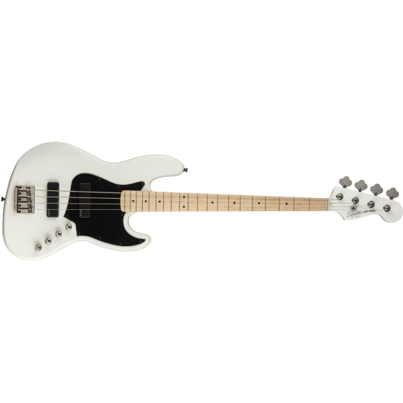 Squier Contemporary Active Jazz Bass HH, Maple Fingerboard, Flat White