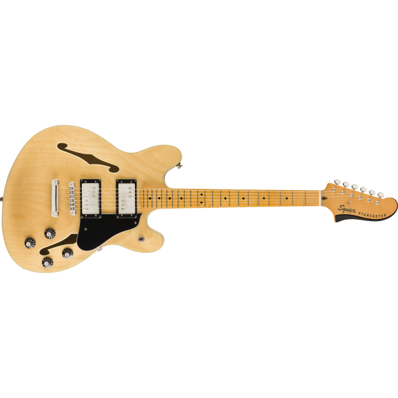 Squier Classic Vibe Starcaster Natural Finish