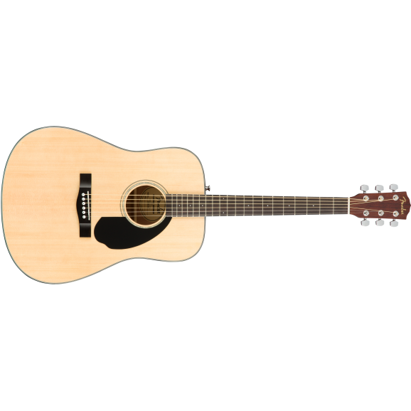 Fender CD-60S Solid Top Acoustic Guitar Pack - Natural