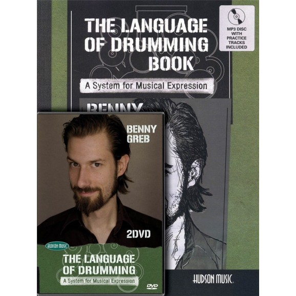 Benny Greb - The Language of Drumming (Book, CD, 2-DVD Combo Pack)