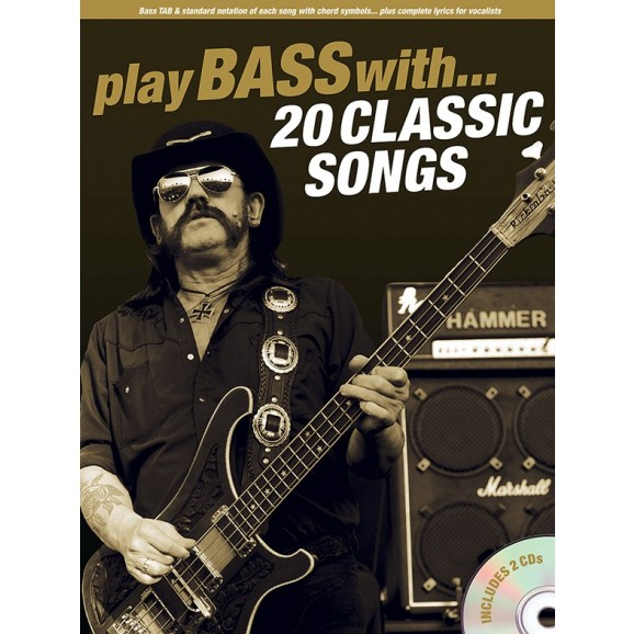 Play Bass With... 20 Classic Songs