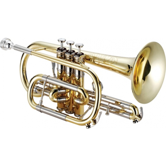 Jupiter 1220L Tribune Model Bb Cornet Lacquer Finish