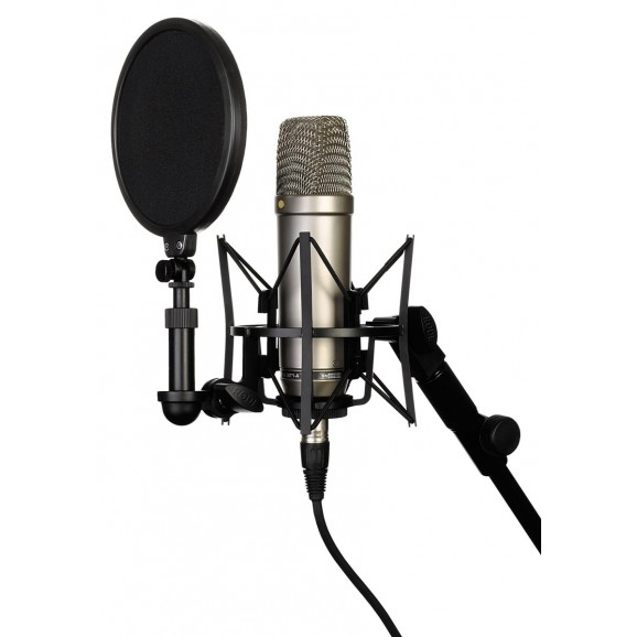 Rode NT1-A Cardoid Condenser Mic Package