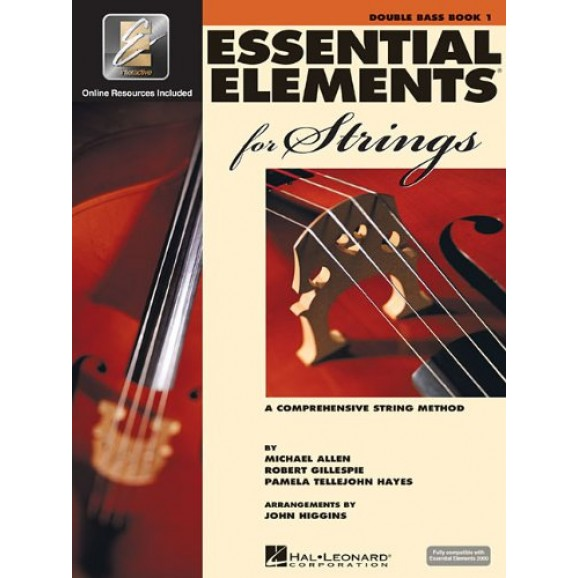 Essential Elements 2000 Double Bass Book 1 (bk/cd)