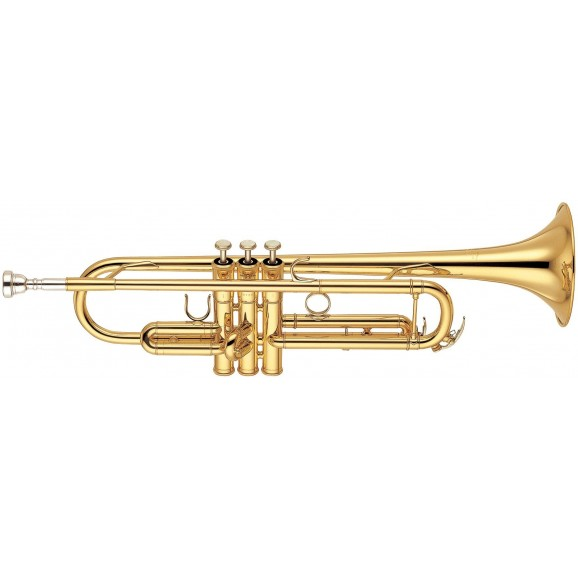 Yamaha YTR6335 ProTrumpet. regular weight, Yellow brass bell