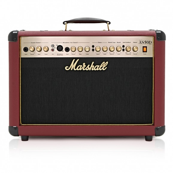 Marshall AS50DR Ltd. Ox Red