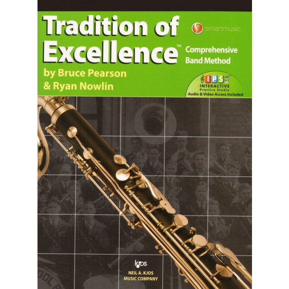 Tradition of Excellence Bass Clarinet Book 3