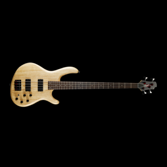 Cort Action Bass Deluxe - Open Pore Natural