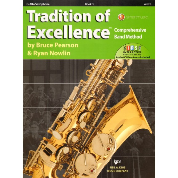 Tradition of Excellence Eb Alto Sax Book 3