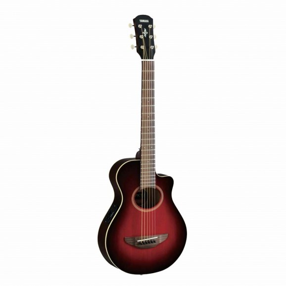 Yamaha APXT2 Small Electric/Acoustic Guitar - Dark Red Burst