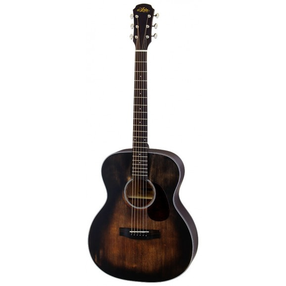 Aria 101 DP OM Delta series Muddy Brown