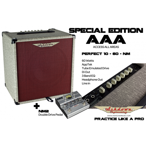Ashdown Special Edition 1 x 10 Bass Combo w/ Nate Mendel (Foo Fighters) Pedal
