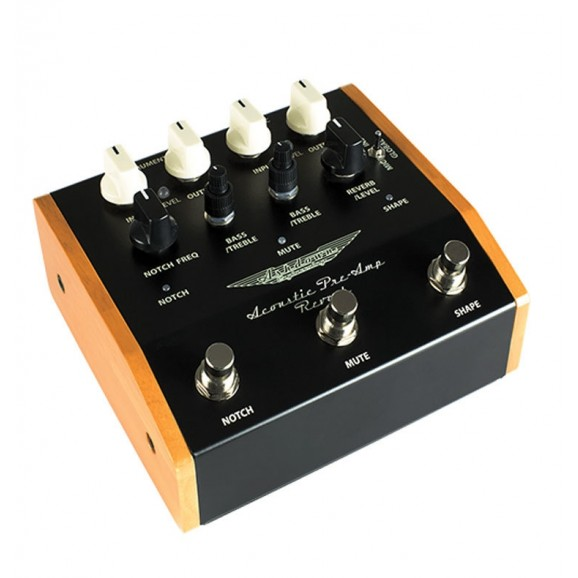 Ashdown Woodsman Preamp Pedal with Reverb