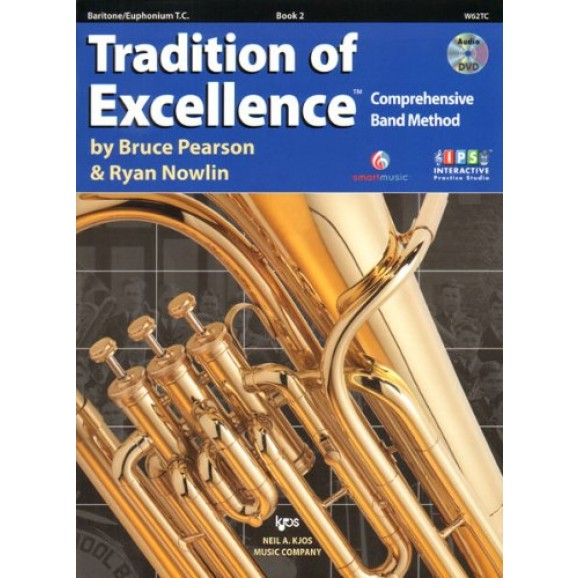 Tradition of Excellence Baritone/Euphonium Book 2 (treble cleff)