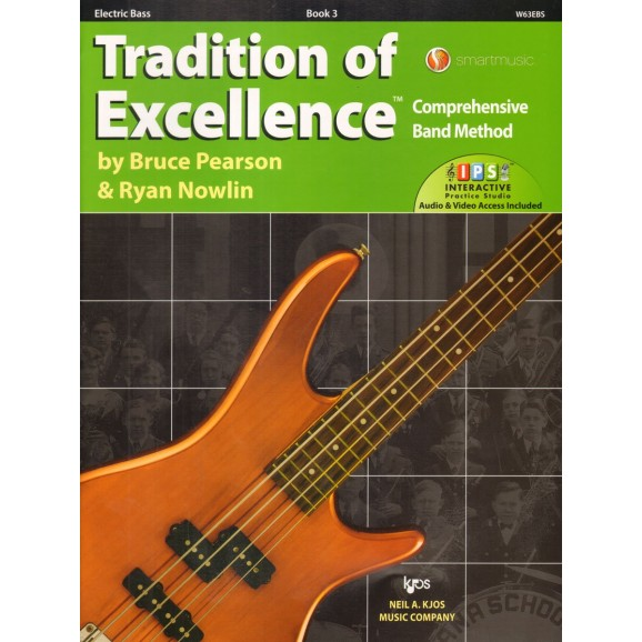 Tradition of Excellence Electric Bass Book 3