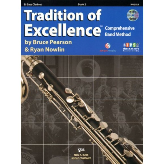 Tradition of Excellence Bass Clarinet Book 2