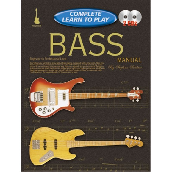 Complete Learn to Play: Bass Guitar