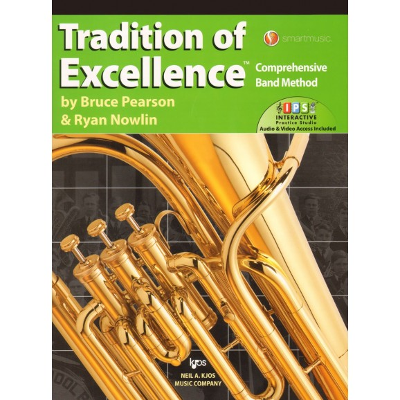 Tradition of Excellence Baritone/Euphonium Book 3