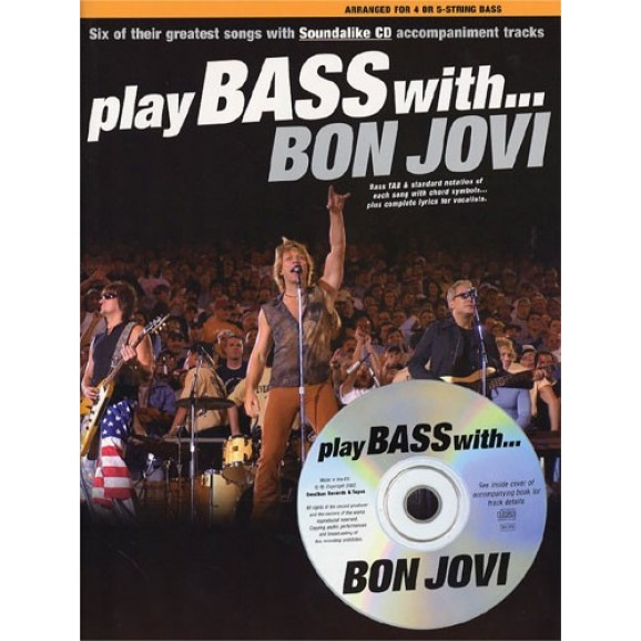 Play Bass With... Bon Jovi
