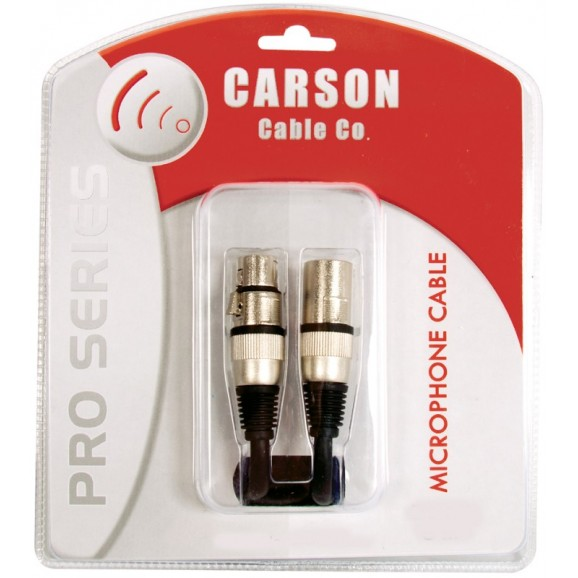Carson Pro Series 30ft Microphone Cable (XLR to XLR)