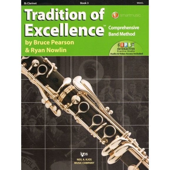 Tradition of Excellence Bb Clarinet Book 3
