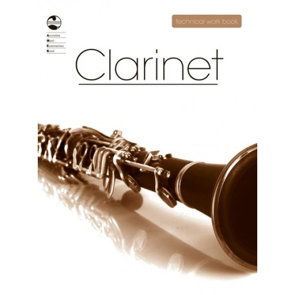 AMEB Clarinet Technical Work Book - 2008