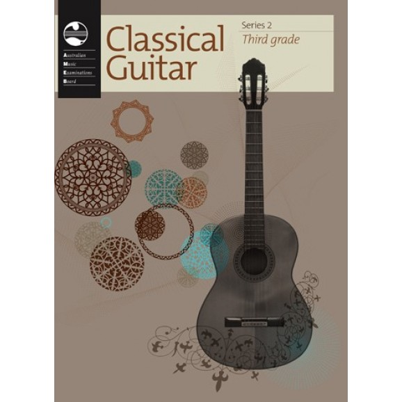AMEB Classical Guitar Grade Book Series 2 - Third Grade