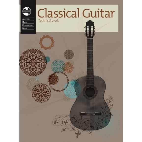AMEB Classical Guitar Technical Work Book - 2011