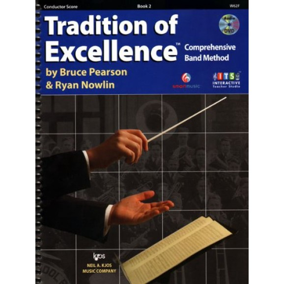 Tradition of Excellence Conductors Score Book 2