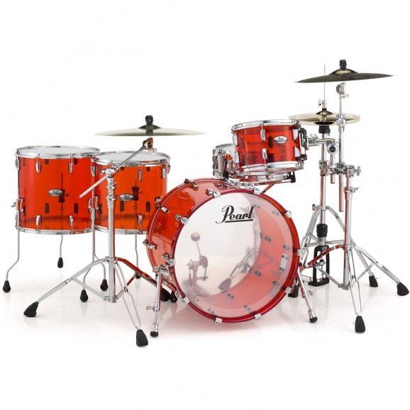 Kit does NOT include cymbals, stands or pedal.