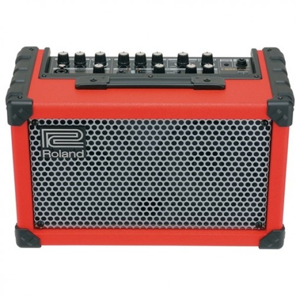 Roland CUBESTR Cube Street Battery Powered Stereo Amp (Red)