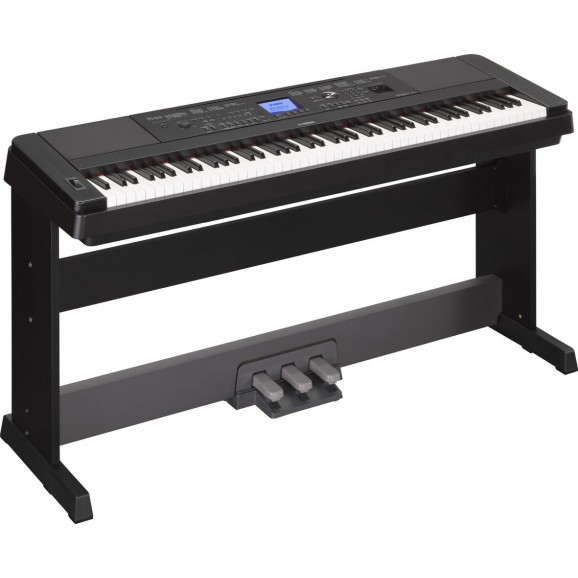 Yamaha DGX-660 Portable Grand Piano, Black