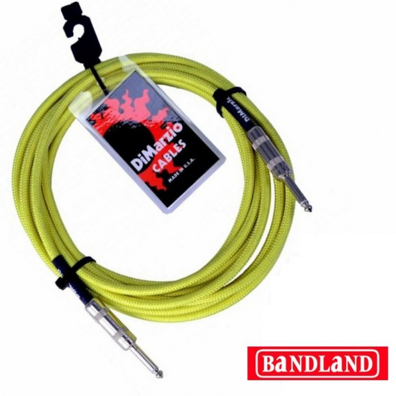 DiMarzio EP1710NG 10ft Instrument Cable - Neon Green