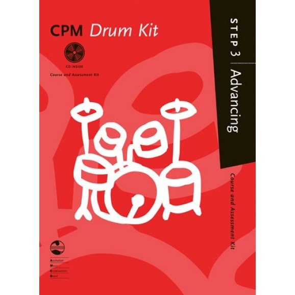AMEB CPM Drum Kit Advancing Step 3