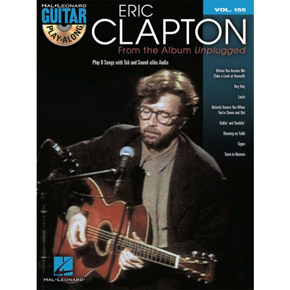 Guitar Play-Along: Eric Clapton – From the Album Unplugged