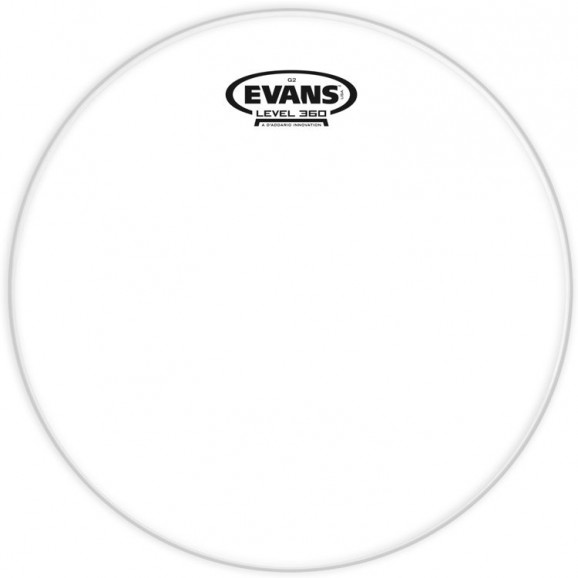 "Evans 10"" G2 Clear"