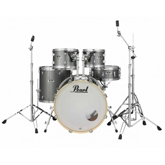 Pearl Export EXX Fusion Kit w/ Planet Z cymbals + 830 Series Hardware Pack (Grindstone Sparkle)