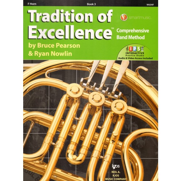 Tradition of Excellence French Horn Book 3