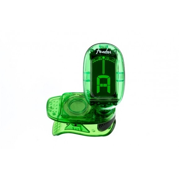 Fender California Clip-on Tuner Green
