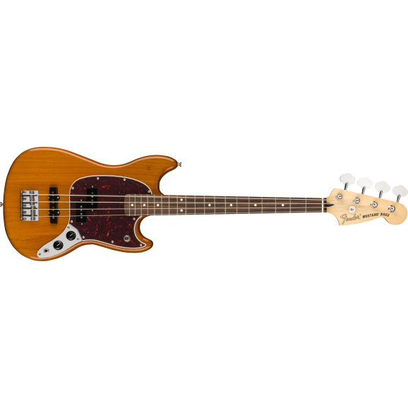 Fender Player Series Mustang PJ Bass - Aged Natural
