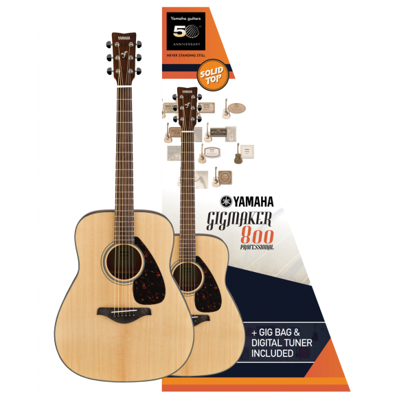 YAMAHA GIGMAKER800 acoustic guitar pack