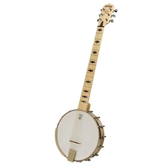DEERING GOODTIME G6S OPEN BACK 6 STRING BANJO