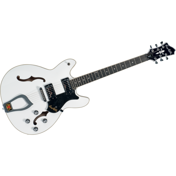 Hagstrom Viking White Electric Guitar