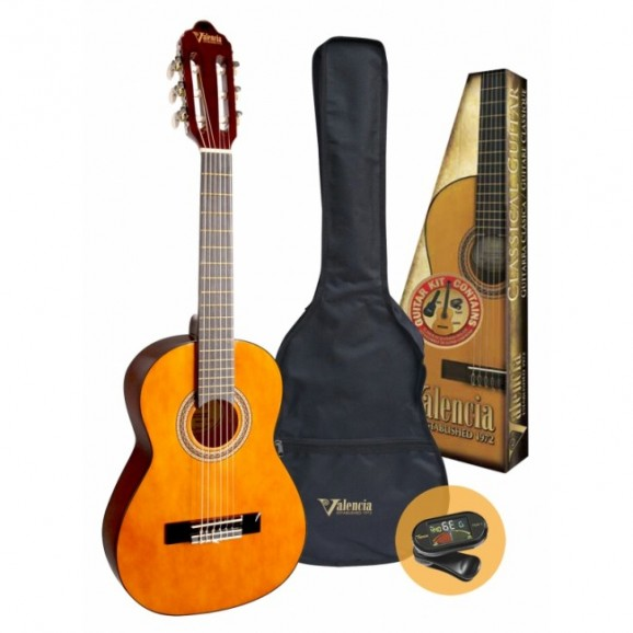 Valencia 1/4 Size Classical Guitar Kit