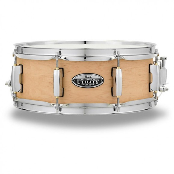 "Pearl Modern Utility Series Snare Drums 14"" x 5.5"" Maple"