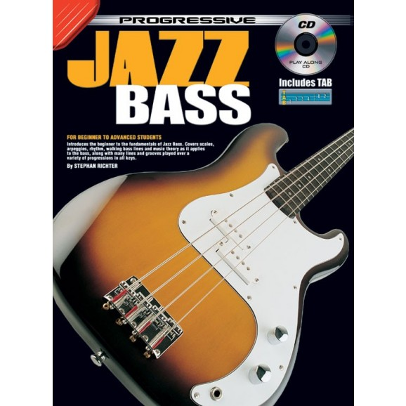 Progressive Jazz Bass (BK/CD)