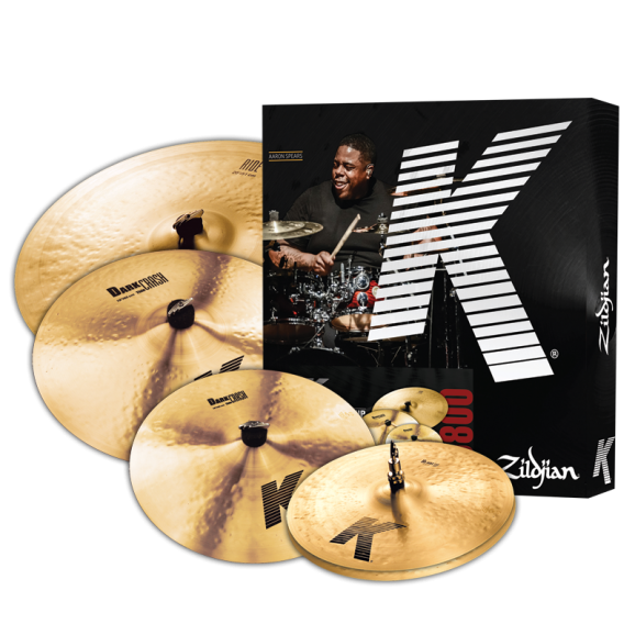 "Zildjian K Cymbal Pack w/ FREE 18"" Crash"